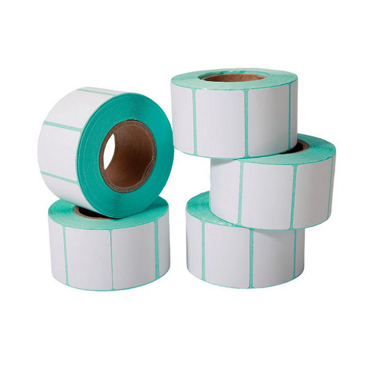 40mm*30mm Woodfree paper self adhesive label rolls