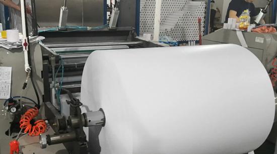 Blank thermal rolls slitting process
