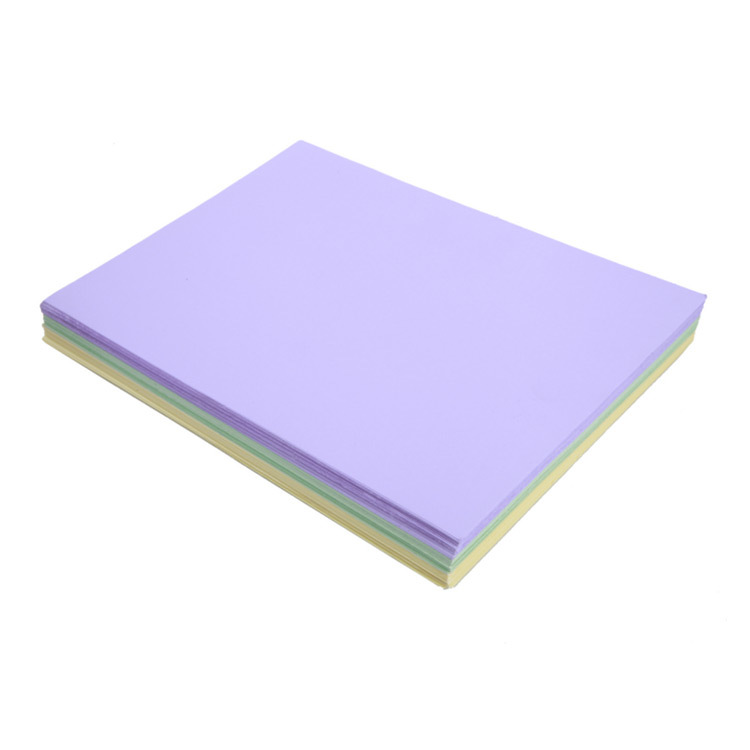 Colorful woodfree  paper