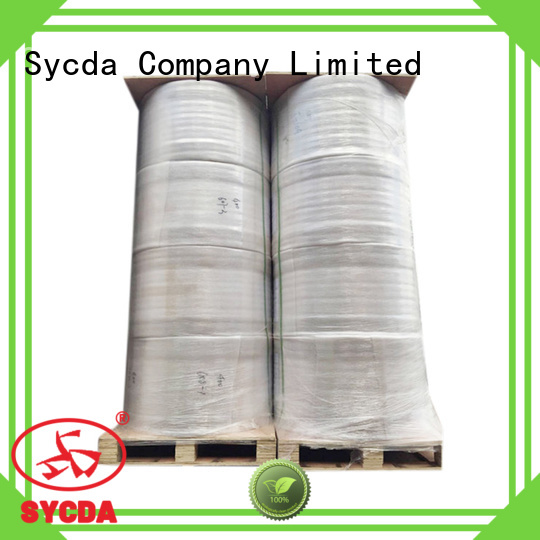 Sycda synthetic pos paper rolls personalized for logistics