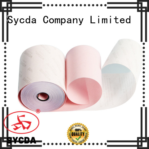 Sycda umboroll 2 plys ncr paper manufacturer for supermarket