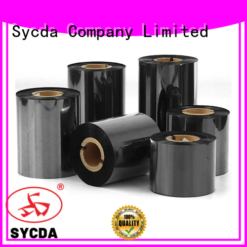Sycda 110mm300m barcode ribbon with good price for tag