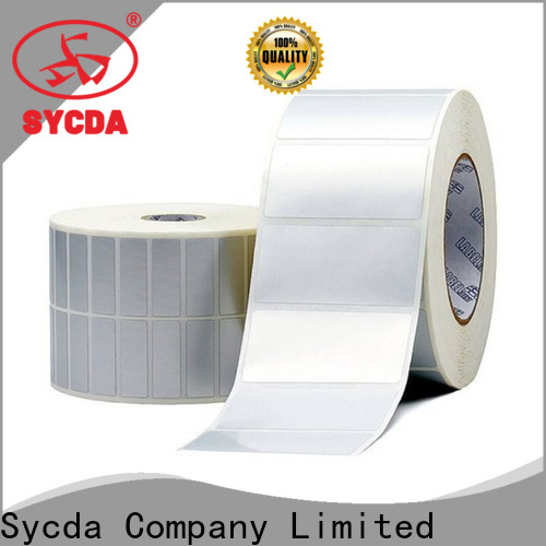 Sycda woodfree self adhesive labels design for supermarket