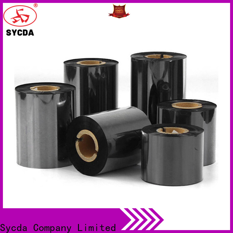 Sycda popular thermal ribbon factory for tag
