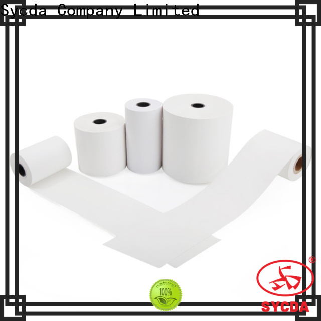 110mm credit card paper rolls factory price for movie ticket