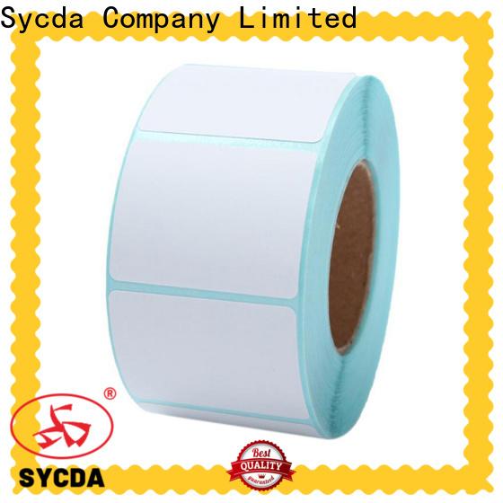 Sycda matte self adhesive stickers design for supermarket