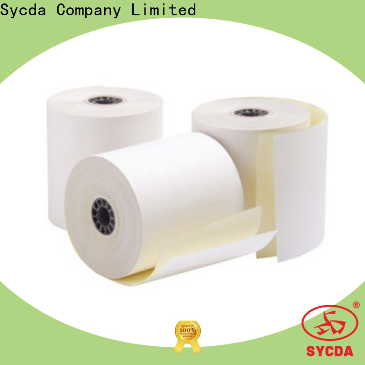 Sycda 2 plys carbonless paper from China for hospital