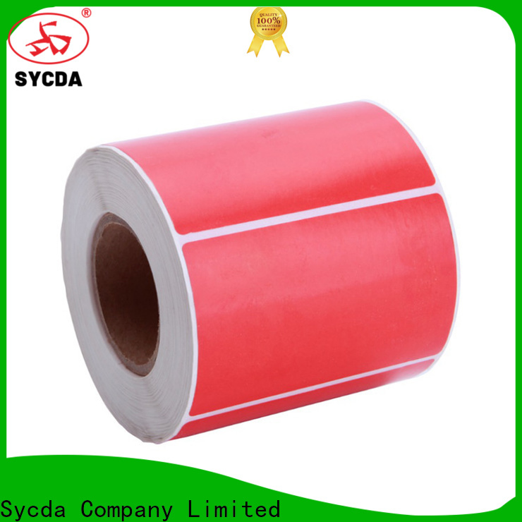 Sycda matte self adhesive paper with good price for logistics
