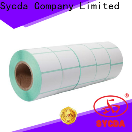 Sycda self stick labels with good price for logistics