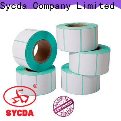 Sycda woodfree circle labels with good price for logistics