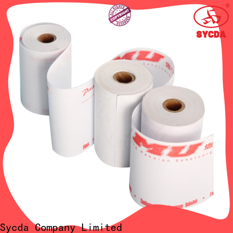Sycda credit card paper factory price for logistics
