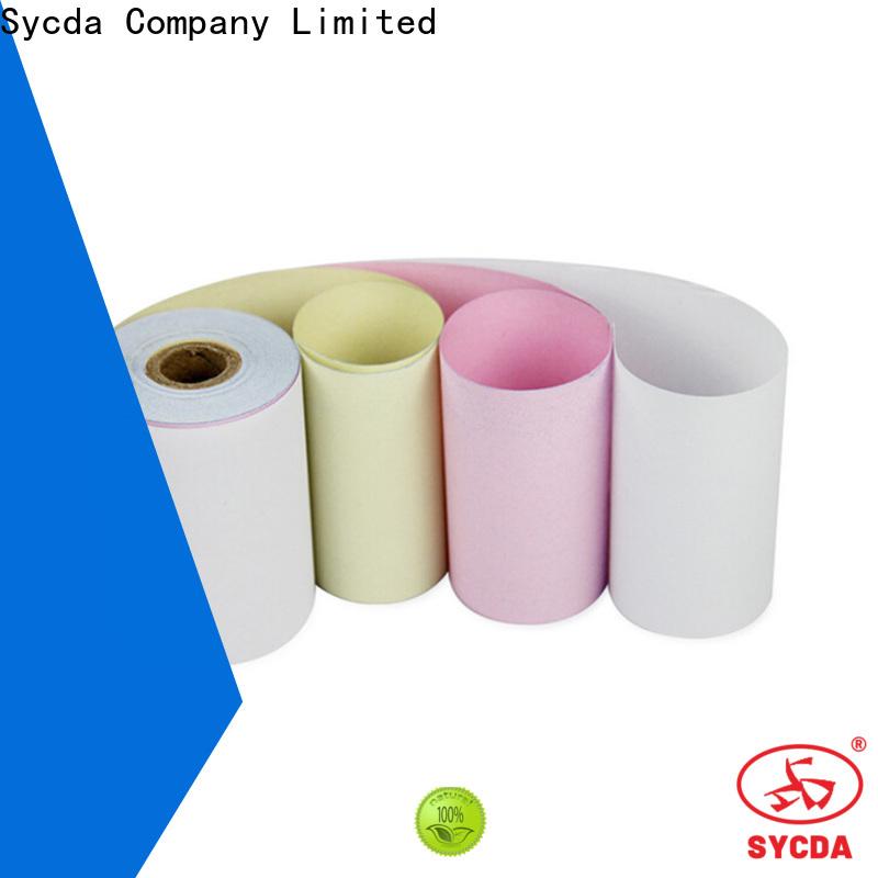 Sycda ncr 2 plys carbonless paper manufacturer for supermarket