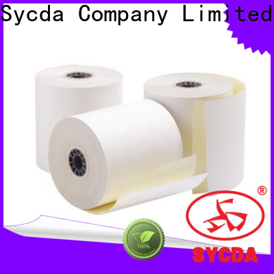Sycda continuous ncr carbonless paper directly sale for hospital