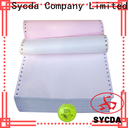 Sycda ncr carbonless paper from China for banking