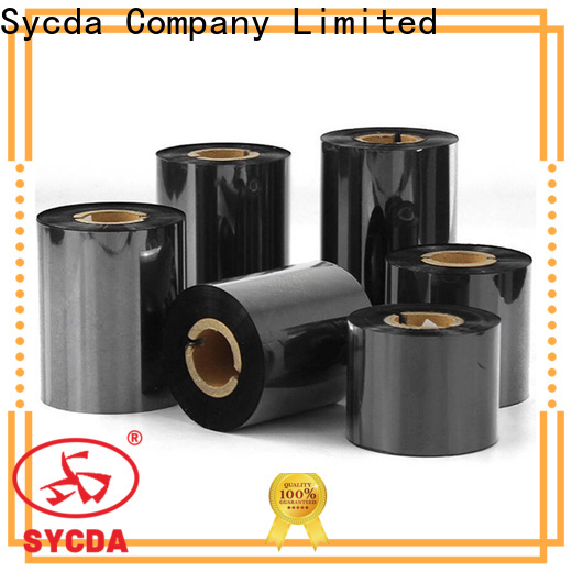 Sycda thermal transfer ribbon inquire now for tag