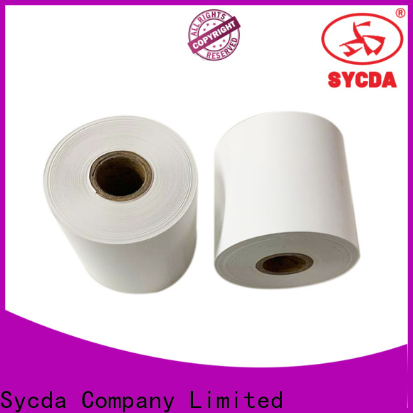 Sycda thermal receipt paper factory price for fax