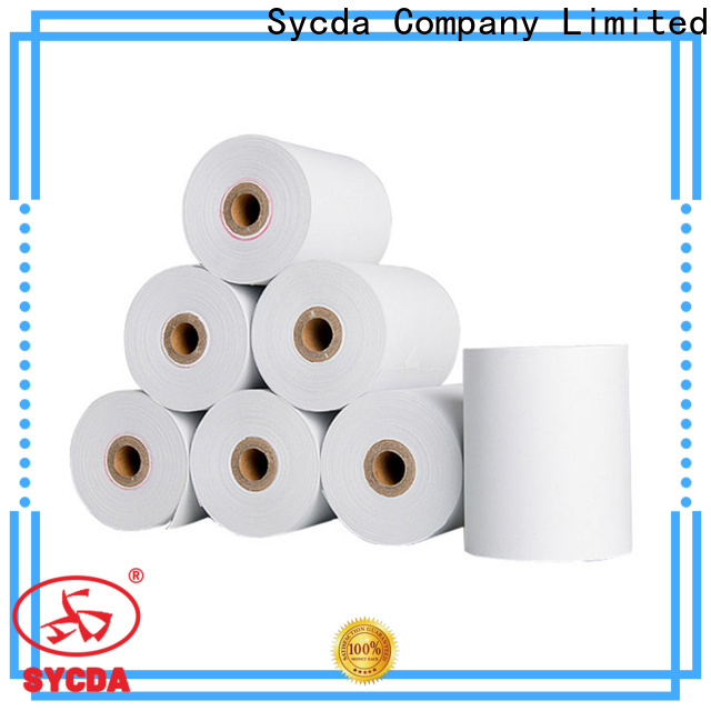 continuous ncr paper rolls customized for hospital