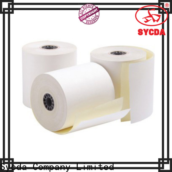 Sycda umbo roll  carbonless copy paper from China for banking