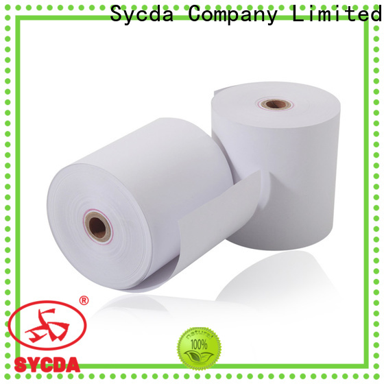Sycda waterproof thermal paper rolls personalized for logistics