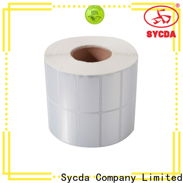 Sycda sticky label printing atdiscount for supermarket