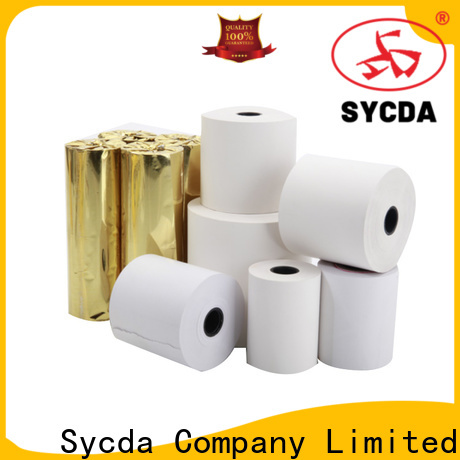 printed receipt paper roll factory price for retailing system