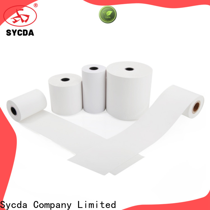 Sycda 57mm credit card paper wholesale for retailing system
