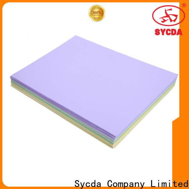 hot selling coated woodfree paper factory price for commercial
