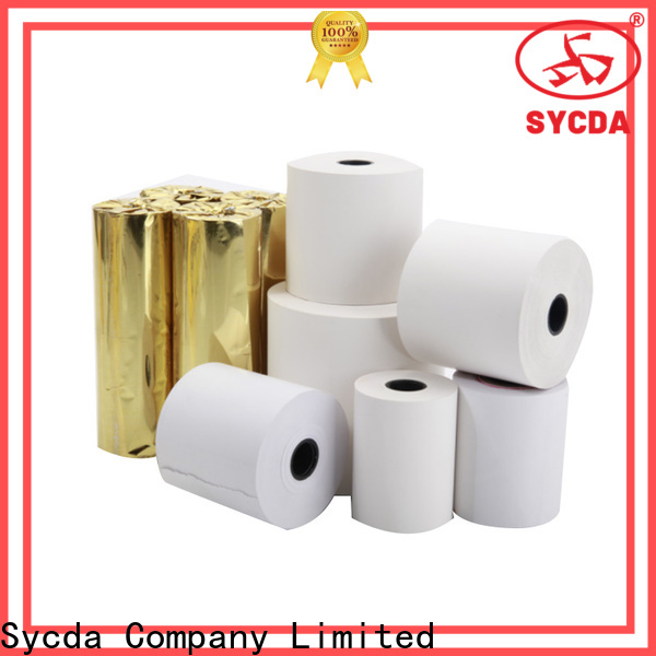 Sycda 110mm register paper supplier for receipt