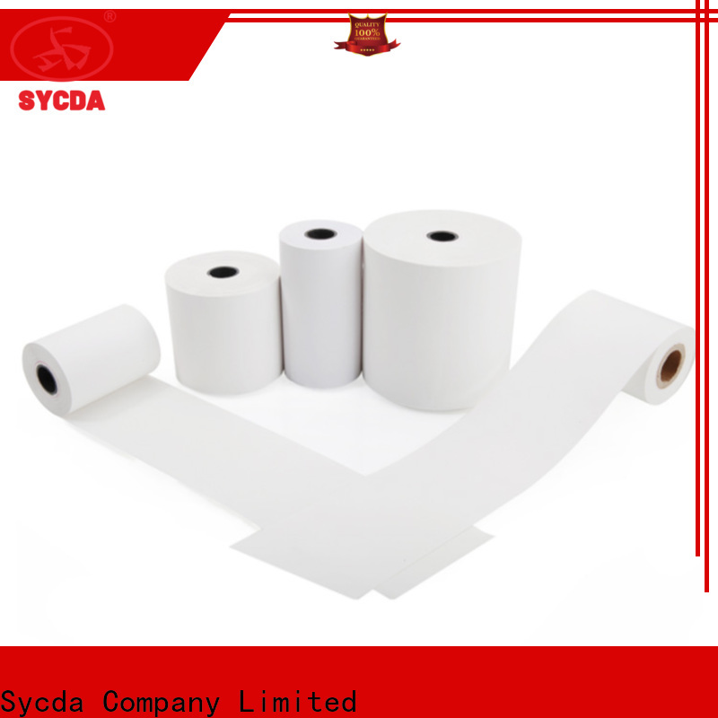Sycda pos rolls personalized for fax