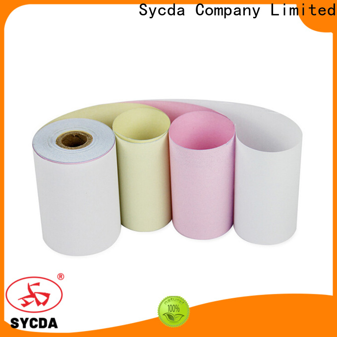 Sycda colorful blank carbonless paper sheets for computer