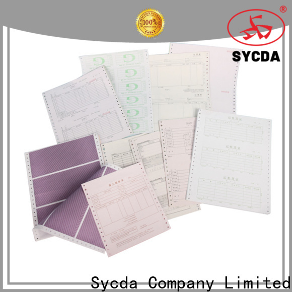 Sycda ncr carbon paper series for banking
