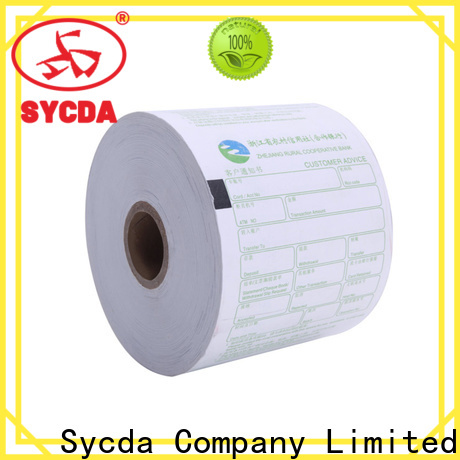 Sycda thermal printer rolls wholesale for movie ticket