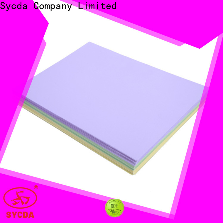 Sycda reliable woodfree paper wholesale for commercial