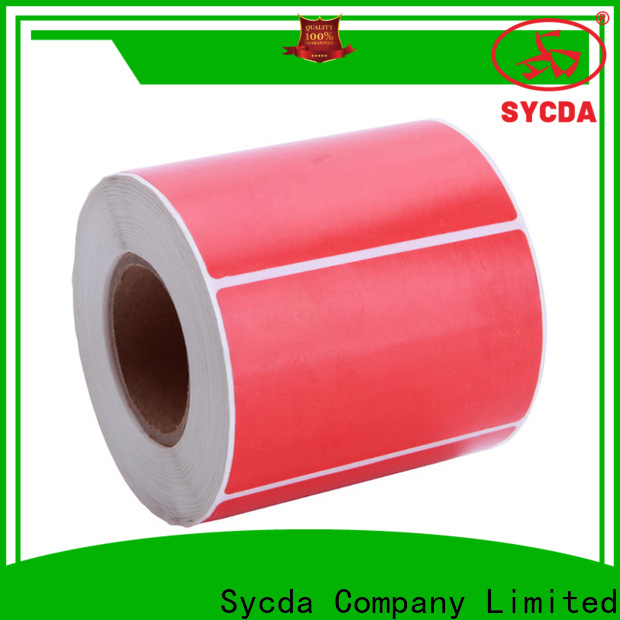 Sycda adhesive labels with good price for hospital