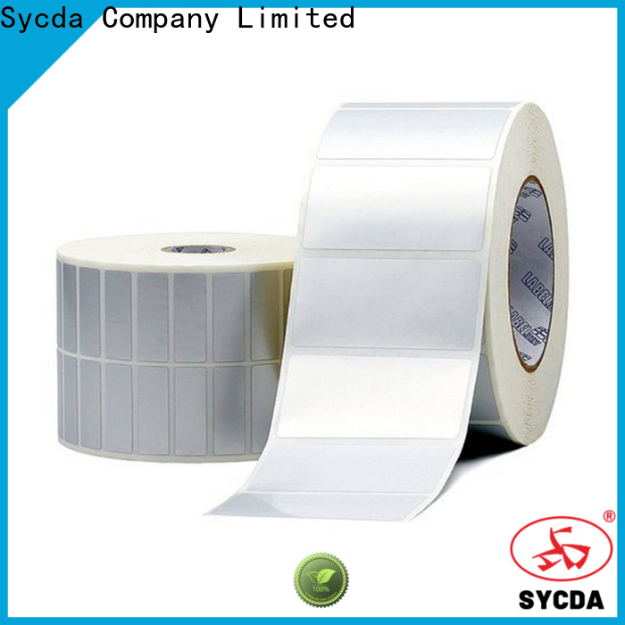 bright self stick labels with good price for aviation field