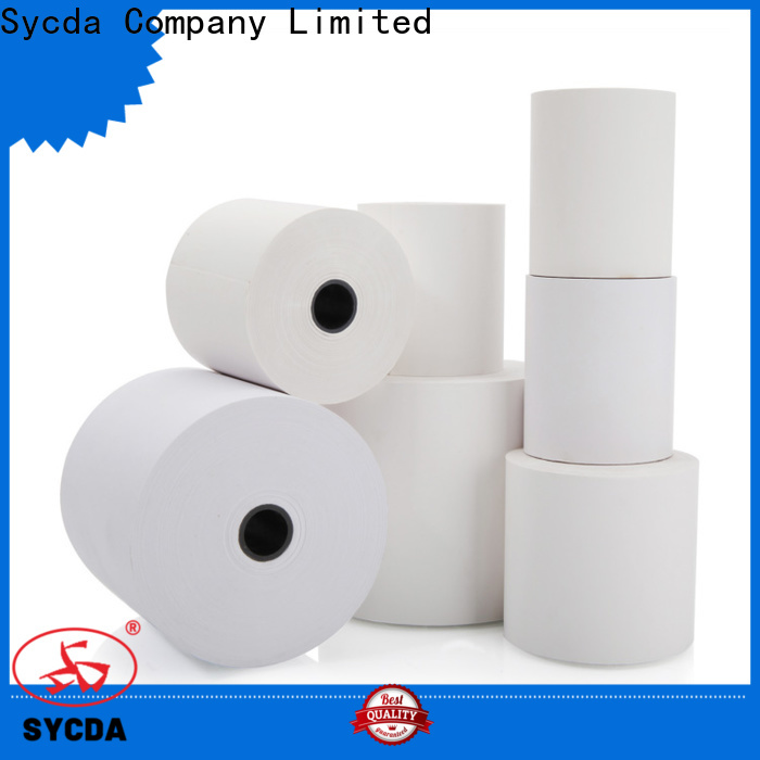 Sycda 80mm register paper wholesale for logistics