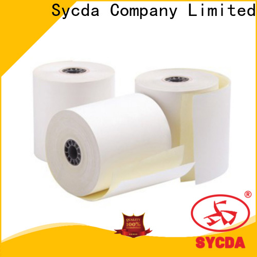 Sycda printed carbonless copy paper sheets for computer