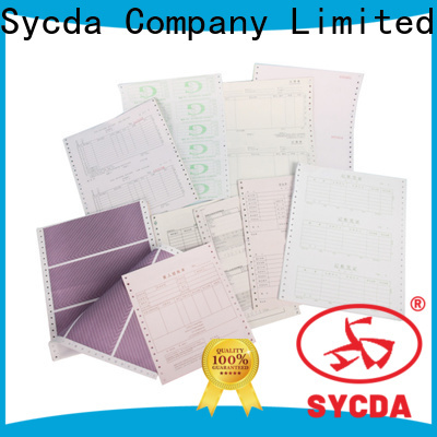 Sycda 2 plys carbonless paper sheets for banking