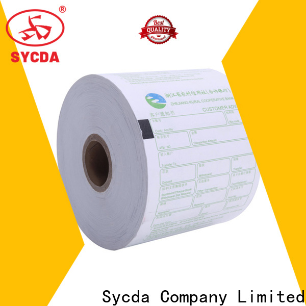 Sycda 57mm thermal printer paper personalized for logistics