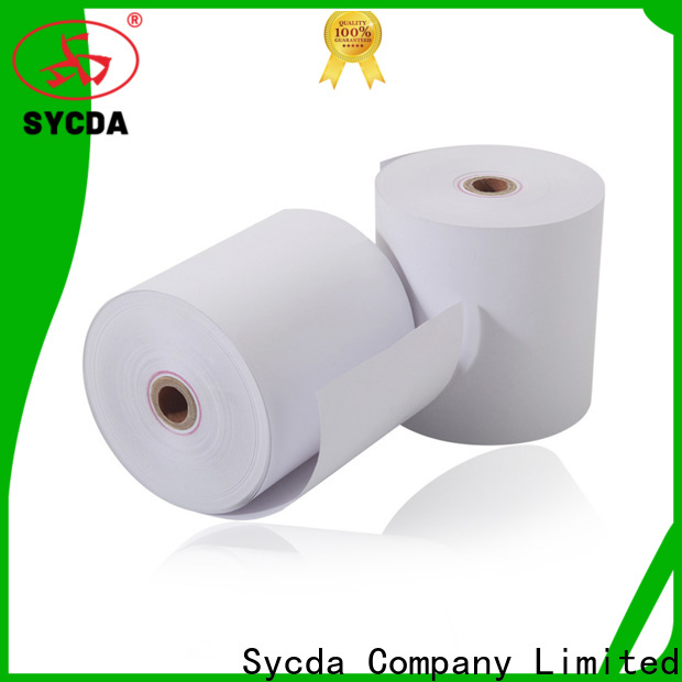 Sycda 57mm receipt rolls wholesale for movie ticket