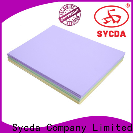 Sycda practical woodfree printing paper wholesale for sale