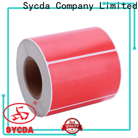 Sycda 40mm stick labels atdiscount for banking