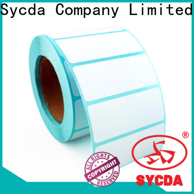 Sycda matte sticky labels design for aviation field