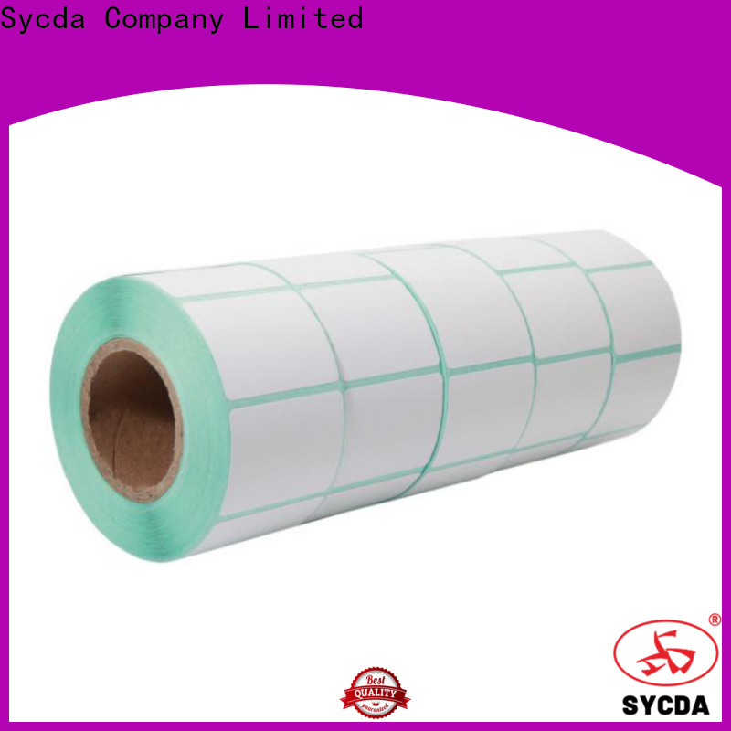 Sycda 55mm sticky labels factory for aviation field