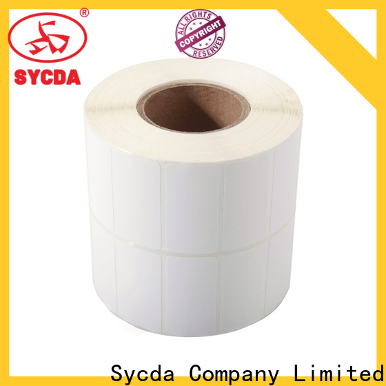 Sycda sticky labels factory for supermarket