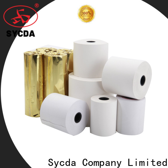 Sycda thermal receipt rolls wholesale for logistics