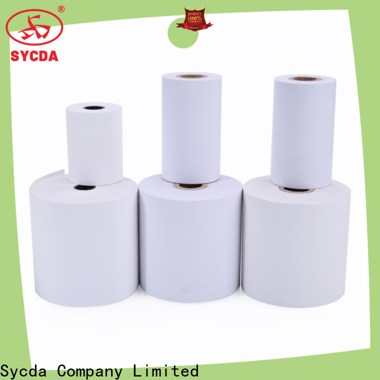 Sycda jumbo thermal rolls supplier for retailing system