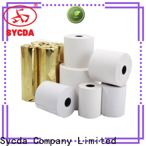 Sycda jumbo thermal paper roll price wholesale for fax