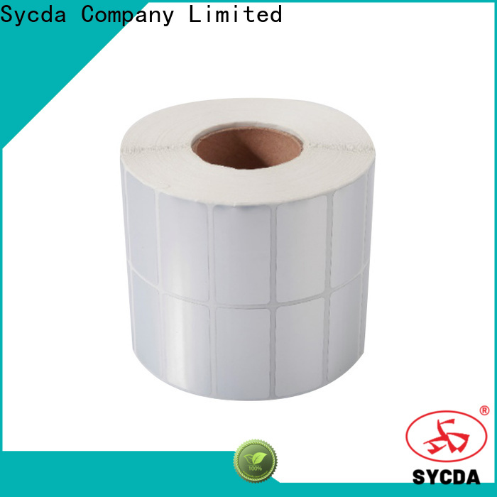 silver printed adhesive labels factory for hospital