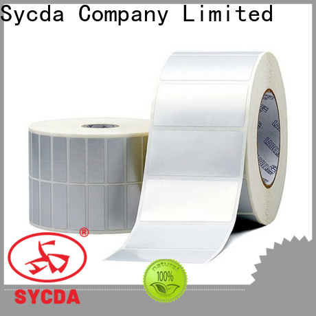 Sycda waterproof label paper atdiscount for banking